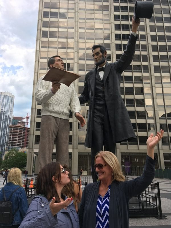 Abraham Lincoln is BIG in Illinois!