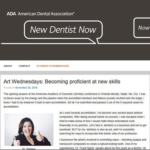 ADA New Dentist Blog