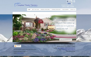 New Website for Complete Family and Aesthetic Dentistry