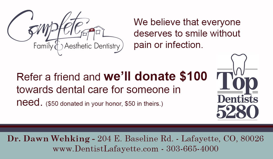 Refer A Friend and We'll Donate